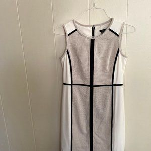 NEW Ann Taylor Colorblock Work Sheath Dress